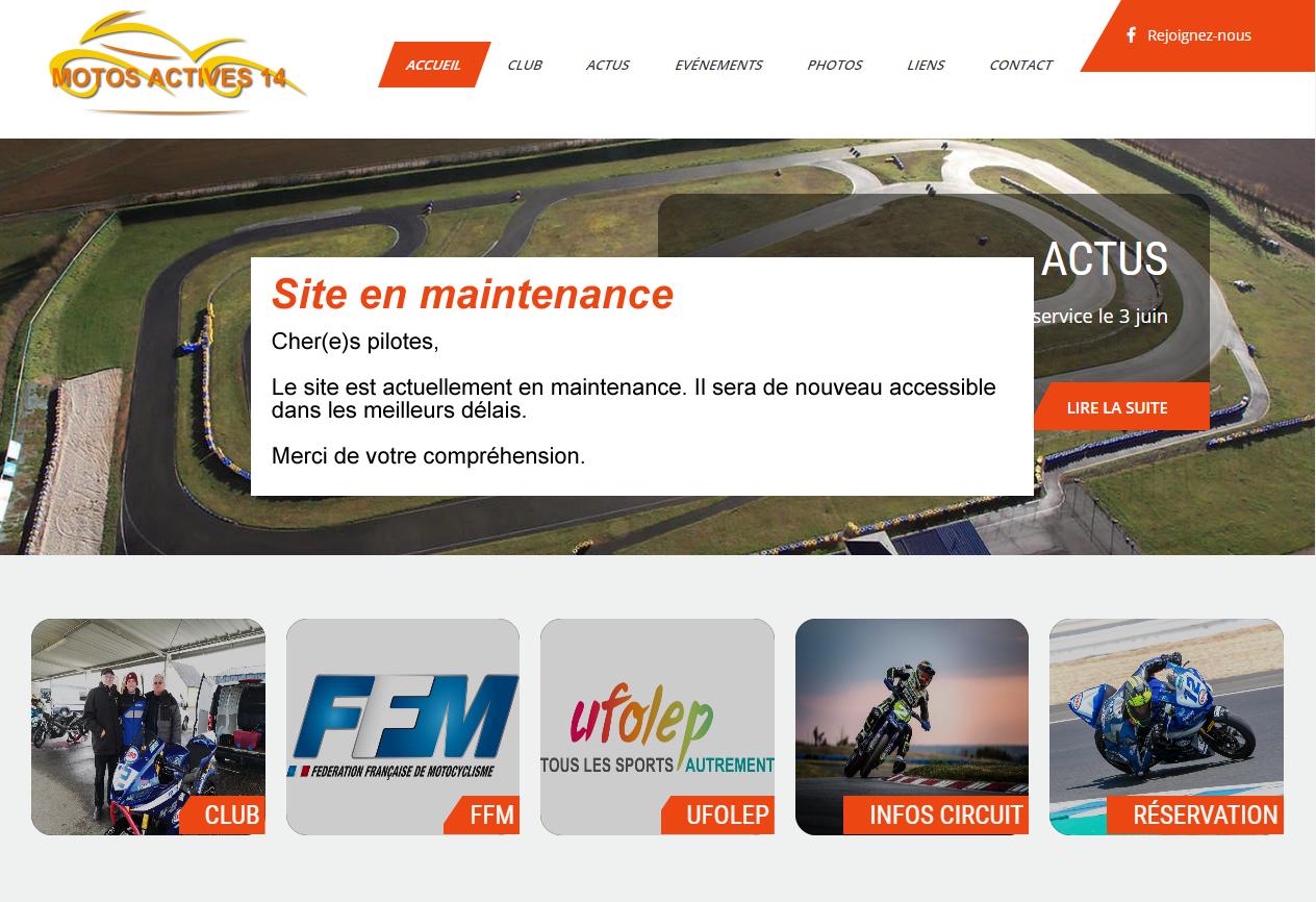 Maintenance Motos et Mobs Actives 14